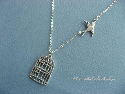 """<strong>Price:</strong> $25.36 <a href=""""https://www.etsy.com/listing/69926293/graduation-necklace-be-free-bird?ref=market"""" target=""""_blank"""">Order it on Etsy.</a>"""