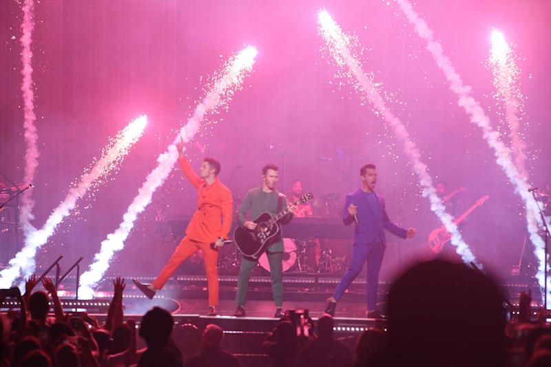 The Jonas Brothers brought their 'Happiness Begins' reunion tour to Fiserv Forum on Sept. 17, 2019.