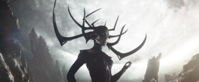 Cate Blanchett as Hela in <em>Thor: Ragnarok</em>. (Photo: Marvel Studios)