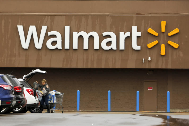 Walmart beats all around, with online sales rebounding