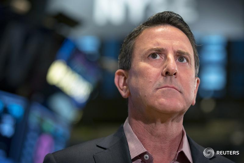 Target Corp. CEO, Brian Cornell speaks during an interview on the floor of the New York Stock Exchange