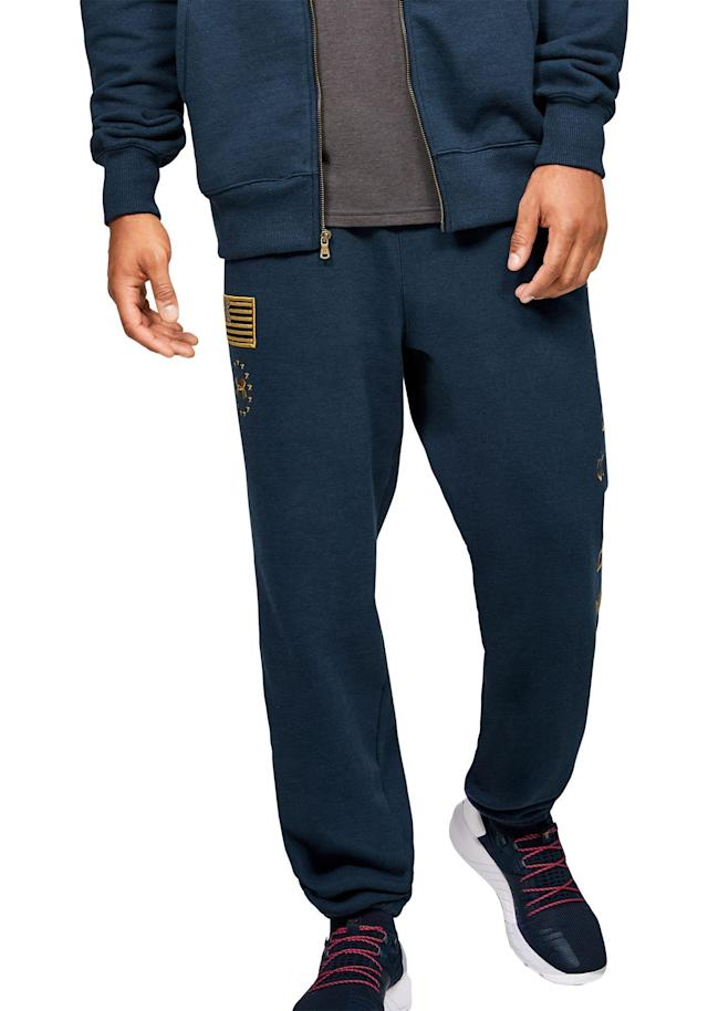 Under Armour Men's Project Rock Veterans Day Warmup Pants
