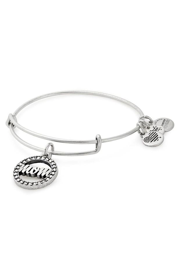 "<p><strong>ALEX AND ANI</strong></p><p>nordstrom.com</p><p><strong>$32.00</strong></p><p><a href=""https://shop.nordstrom.com/s/alex-and-ani-mom-adjustable-wire-bracelet/5253824"" target=""_blank"">SHOP NOW</a></p><p>This bracelet can be worn with any that your mom already owns while reminding her how special she is. </p>"