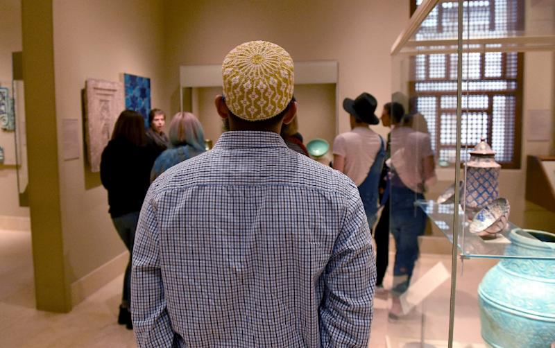 Museums across New York are waging a cultural war on prejudice in Donald Trump's America, flexing the soft power of art and photography to compound the city-wide climate of protest (AFP Photo/TIMOTHY A. CLARY)
