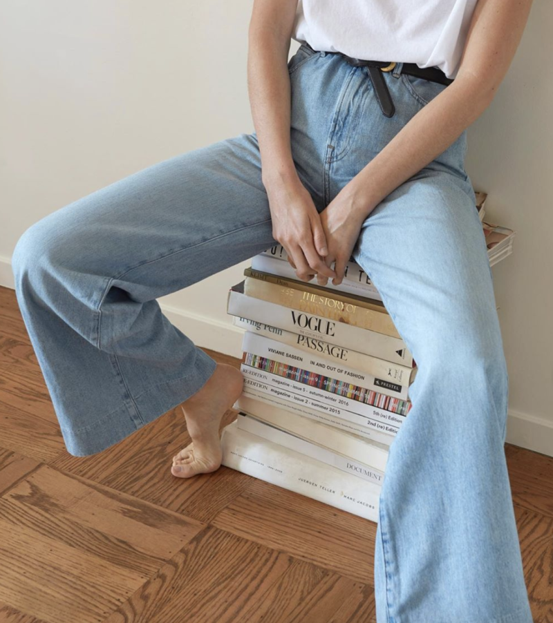 Everlane's newest jeans are their most comfy yet