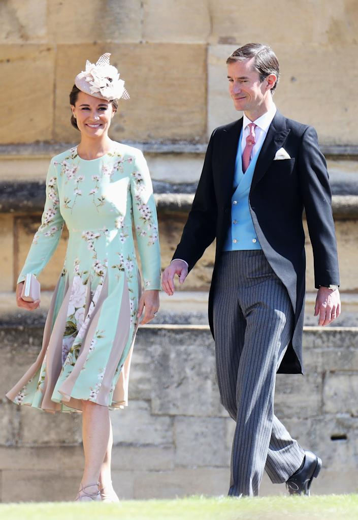 Pippa and James attended Meghan and Harry's royal wedding in May 2018. [Photo: PA]