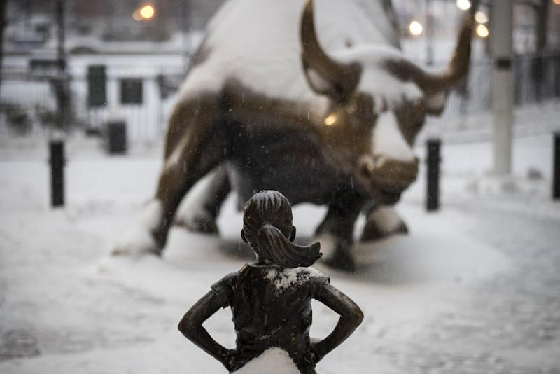 New York's 'Fearless Girl' statue