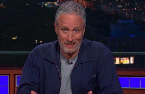 Jon Stewart Joins Stephen Colbert at the Desk to Put Mitch McConnell in His Shell – Er, Place (Video)