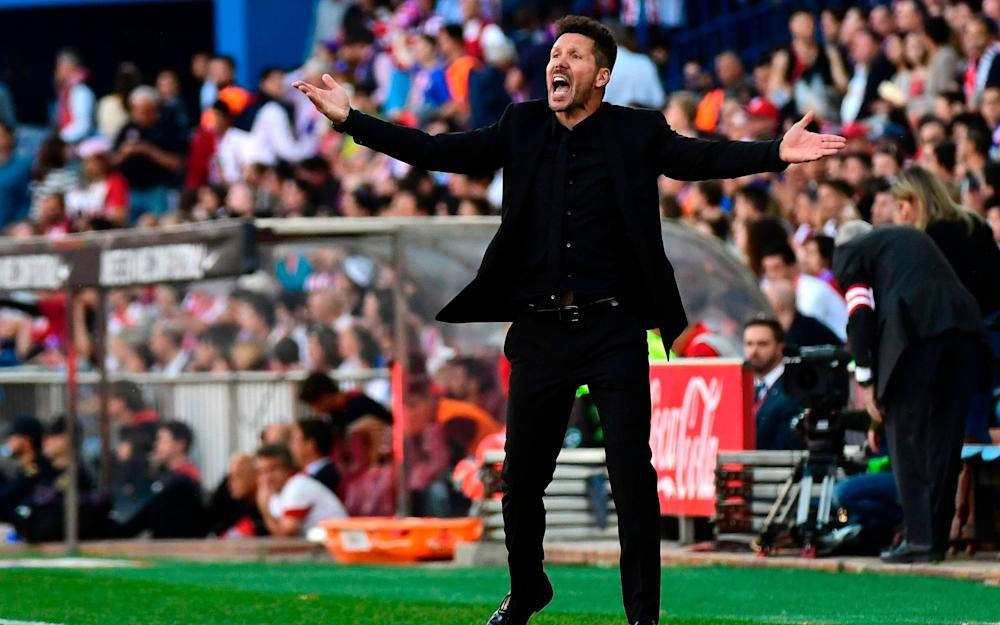 diego simeone - Credit: AFP