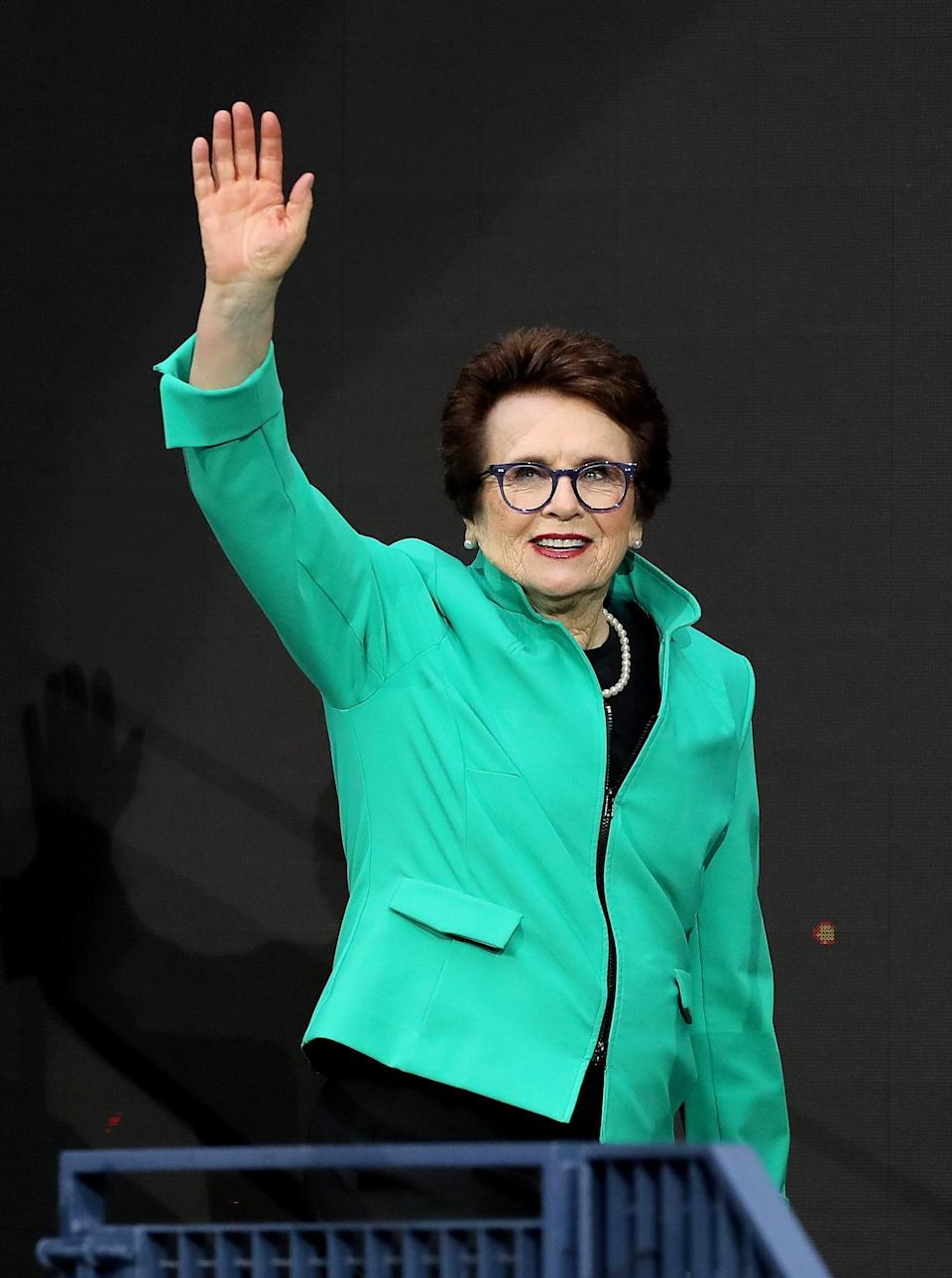 """<p>At 76, Billie Jean King is considered one of the greatest tennis players of all time, but is equally well-known for her work as an activist for gender equality and LGBTQ+ rights.</p> <p>In 1981, King was publicly outed as a lesbian. The experience <a href=""""https://www.nbcnews.com/feature/nbc-out/it-was-horrible-billie-jean-king-recalls-being-publicly-outed-n804451"""" class=""""link rapid-noclick-resp"""" rel=""""nofollow noopener"""" target=""""_blank"""" data-ylk=""""slk:was &quot;horrible"""">was """"horrible</a>,"""" King told NBC News in 2017, adding that her team urged her to deny her sexuality. King refused, saying, """"I'm going to do it. I don't care. This is important to me to tell the truth."""" She said she didn't fully feel comfortable with her sexuality until age 51, but added that if she could change anything about her experiences, it would only be this: """"I'd come out earlier.""""</p>"""