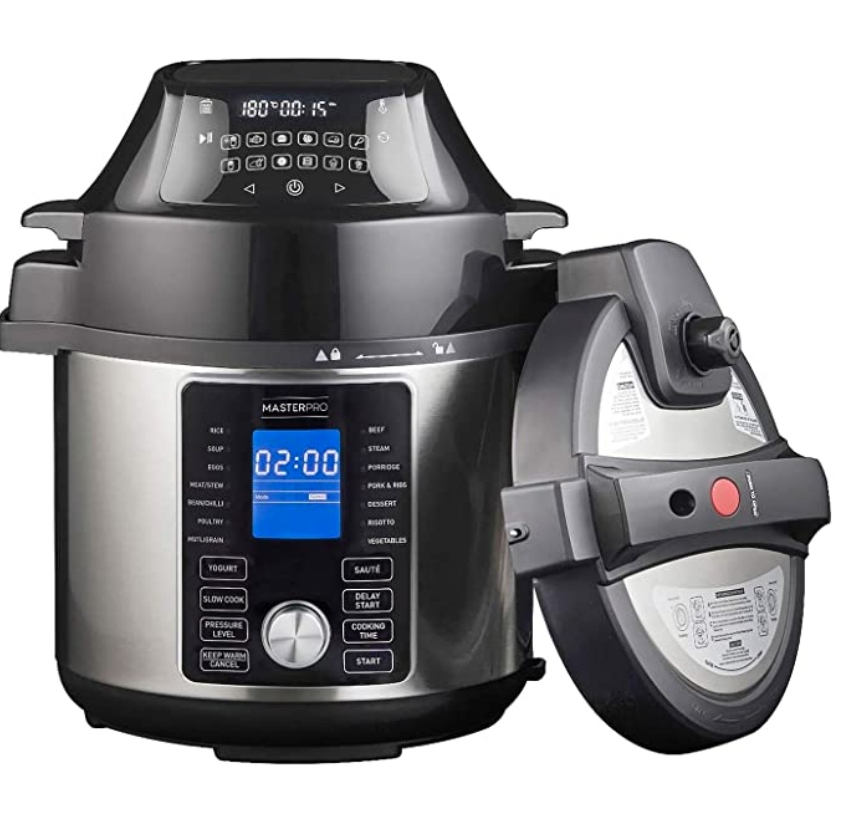 MASTERPRO Ultimate All-in-One Multi Cooker and Airfryer