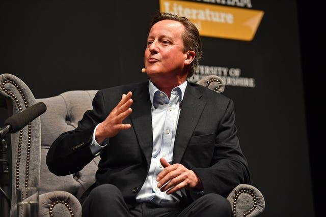 David Cameron has been at the centre of a storm over government lobbying