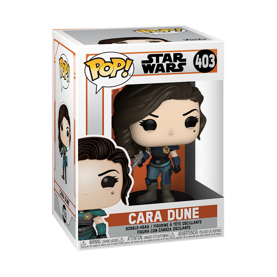 Also new from Funko Pop is the Cara Dune figurine ($11).