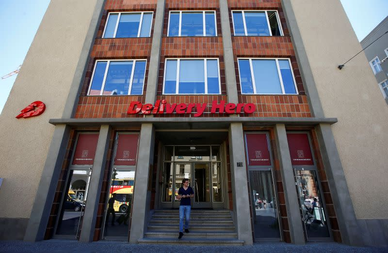Delivery Hero reports jump in customers during lockdowns