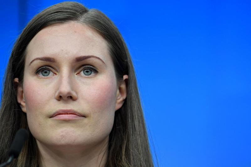 Finland's Prime Minister Sanna Marin (AFP via Getty Images)
