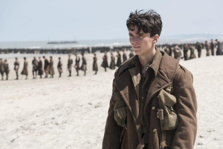 Anger... French critics are not quite to ebullient about Dunkirk as those in the UK - Credit: Warner Bros