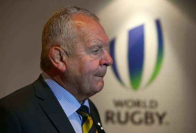 Sir Bill Beaumont has been re-elected for another four years (PA)