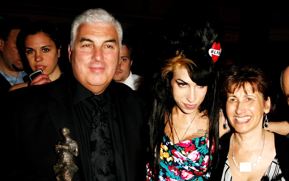 Amy Winehouse's mum Janis has recalled her last words to the late star. (Getty Images)