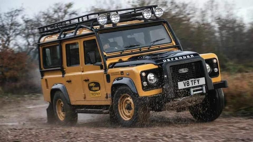 Land Rover Classic reveals limited-run Defender Works V8 Trophy SUV