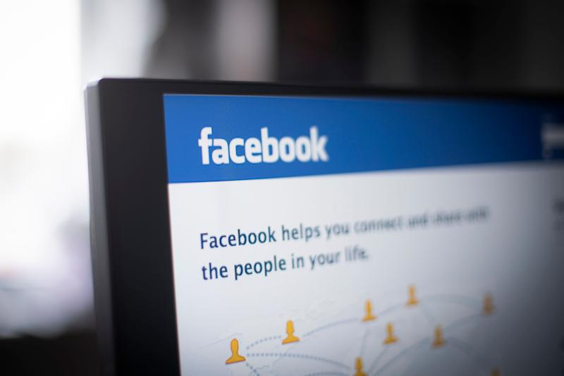 The Facebook login screen is seen in this photo illustration on March 13, 2019 in Warsaw, Poland. (Photo by Jaap Arriens/NurPhoto via Getty Images)