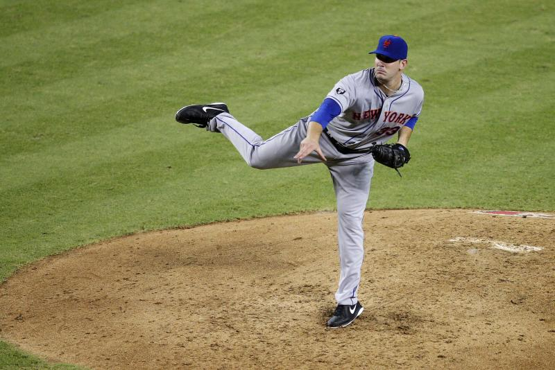 New York Mets pitcher Matt Harvey delivers in his major league debut during the fifth inning of a baseball game against the Arizona Diamondbacks, Thursday, July 26, 2012, in Phoenix. (AP Photo/Matt York)