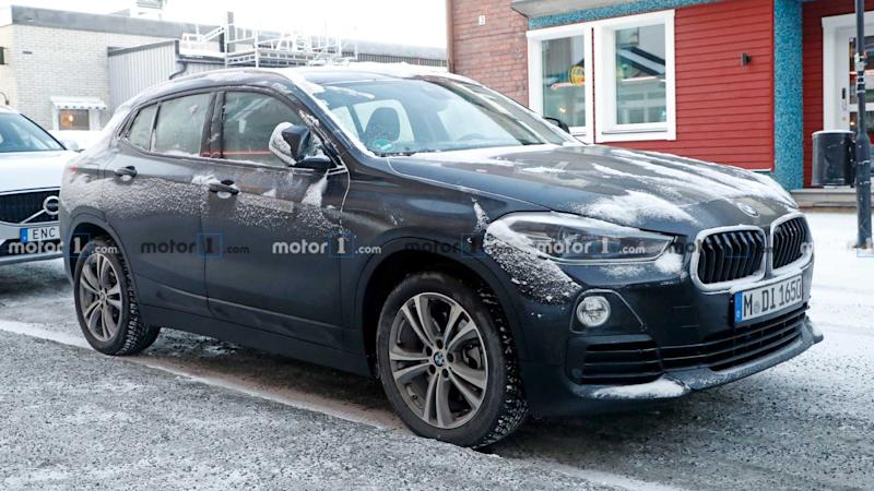 BMW X2 Electric spy photo