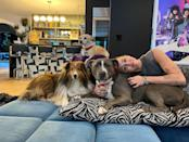 """<p>Welcome home! The singer recently announced that she was adding another furry member to her family — an adorable pit bull that she named Angel, in honor of her beloved dog Mary Jane who died of cancer two months ago. """"Not sure I will ever sleep again because I can't take my eyes off of her!"""" <a href=""""https://www.instagram.com/p/CLlMpauJ5Z6/"""" rel=""""nofollow noopener"""" target=""""_blank"""" data-ylk=""""slk:she wrote"""" class=""""link rapid-noclick-resp"""">she wrote</a>.</p>"""
