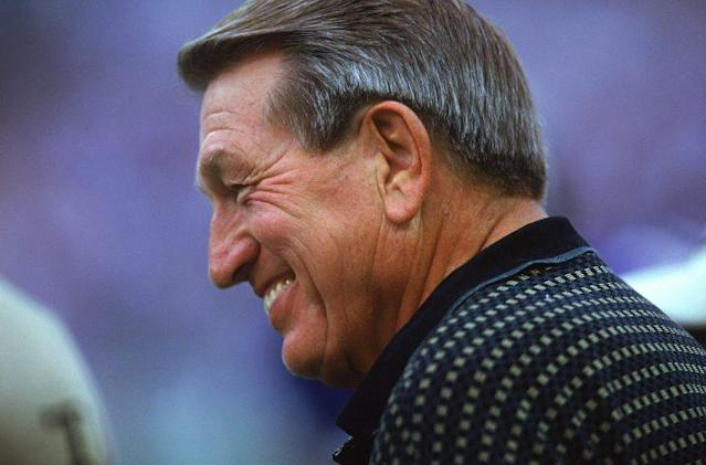 Once legend Johnny Unitas gave his blessing to the Ravens, Baltimore seemed to fall in line. (Getty Images)