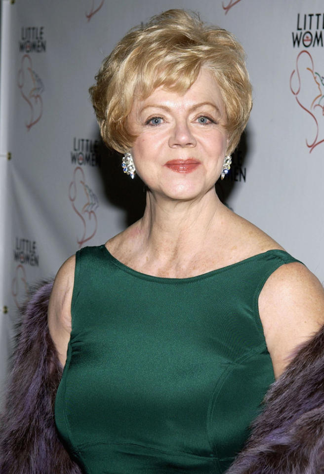 "NEW YORK - JANUARY 23:  Actress Janet Carroll arrives to the after party for the opening of ""Little Women - The Musical"" at Tavern on the Green January 23, 2005 in New York City.  (Photo by Bryan Bedder/Getty Images) *** Local Caption *** Janet Carroll"