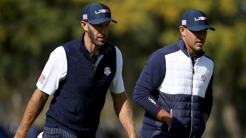 Johnson congratulates Koepka on PGA Tour award after Ryder Cup altercation