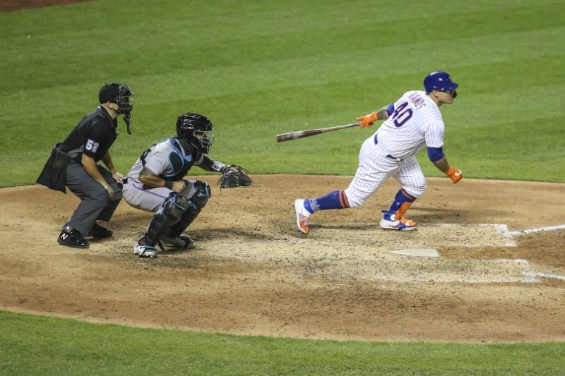 Mets blow late lead, rebound to defeat Marlins