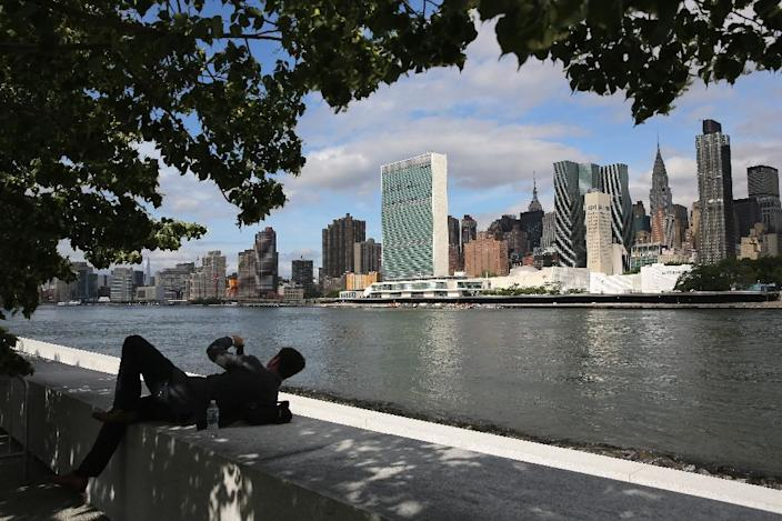 Under a worst-case scenario, New York could be consigned to an un-livable future by the year 2085, according to the study (AFP Photo/John Moore)
