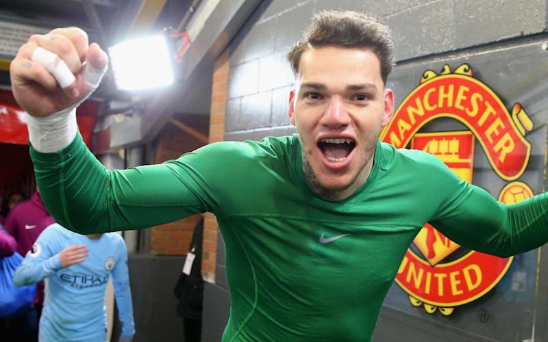 Jose Mourinho in furious dressing-room bust-up with Man City keeper Ederson as tempers flare after Manchester derby