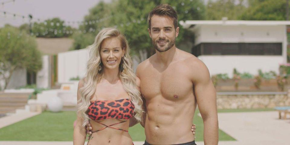 """<p><strong>Relationship status: <strong>Broken up / </strong>Mugged off</strong></p><p>Paul and Laura aka 'Paura' came second on the show, with the nation jumping for joy over the fact that Laura had finally found her Prince Charming.</p><p>Sadly, the couple <a href=""""https://www.cosmopolitan.com/uk/entertainment/a23277682/love-island-laura-anderson-paul-knops-split-up-real-reason/"""" rel=""""nofollow noopener"""" target=""""_blank"""" data-ylk=""""slk:couldn't make it work in the real world"""" class=""""link rapid-noclick-resp"""">couldn't make it work in the real world</a>, with Paul telling The Sun: """"We weren't compatible for each other"""".</p><p>Laura at one point<a href=""""https://www.cosmopolitan.com/uk/entertainment/a23854135/laura-anderson-dating-another-love-island-contestant-max-morley/"""" rel=""""nofollow noopener"""" target=""""_blank"""" data-ylk=""""slk:moved on"""" class=""""link rapid-noclick-resp""""> moved on</a> with Love Island series 1 contestant Max Morley, but that wasn't to be either. </p>"""