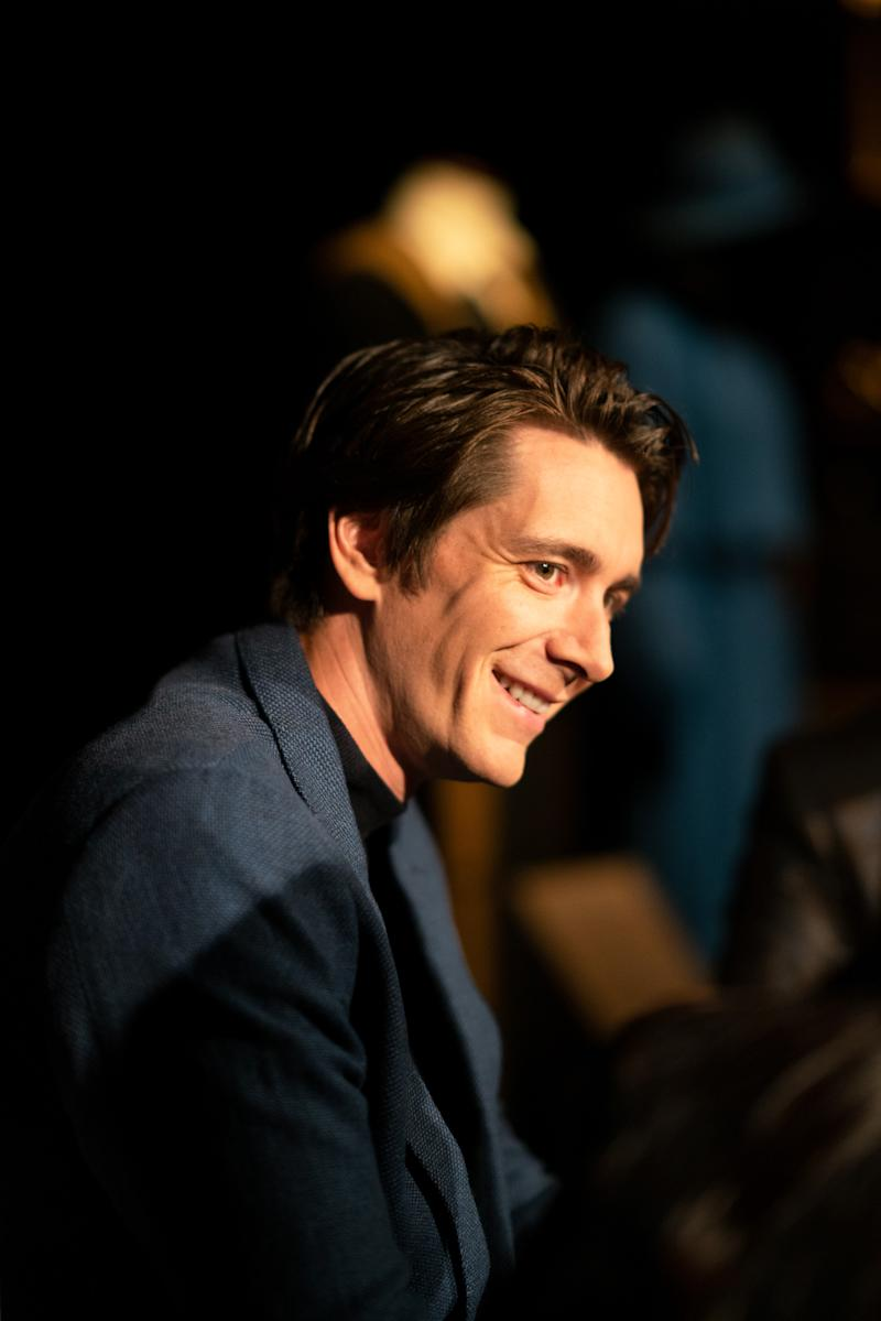 Film actor James Phelps at Harry Potter™: The Exhibition at the Pavilion of Portugal in Lisbon, Portugal