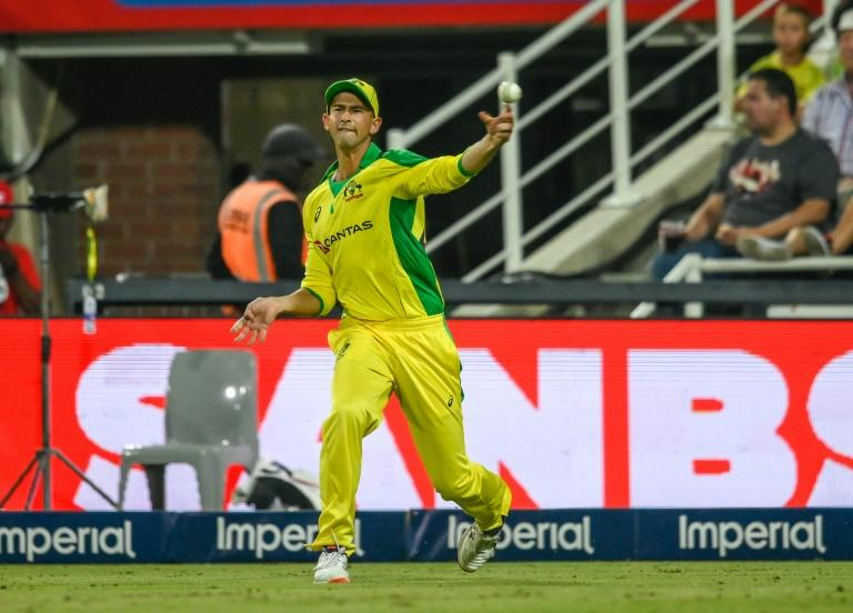 Man of the moment: Australia's Ashton Agar took five wickets on Friday, including a hat-trick