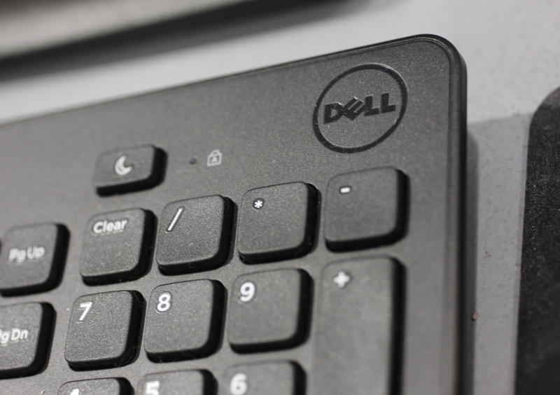 Dell's stock soars on report of possible buyout