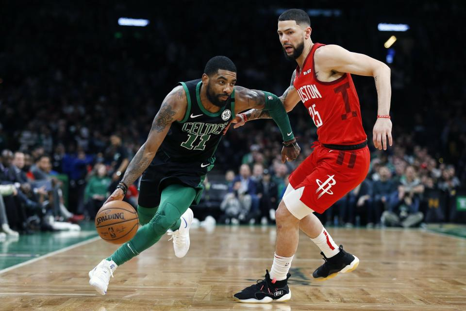 Though he respects Kyrie Irving's message, Austin Rivers wants to play in Orlando next month.