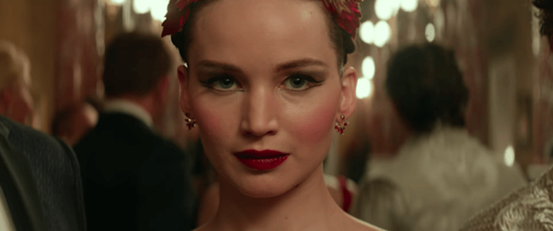 Jennifer Lawrence stars in this high-stakes drama 'Red Sparrow.' Source: 20th Century Fox