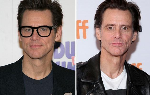 (L-R) A photo of Jim at an event several months ago; A photo of Jim taken last night. Source: Getty