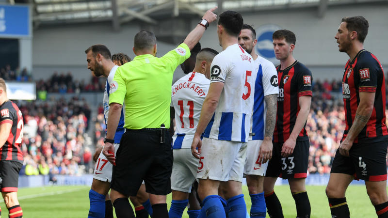 Hughton rues Knockaert red after rout