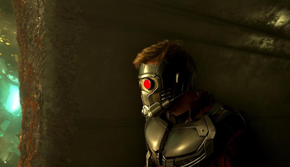<p>Peter Quill is armored up. (Photo: Marvel) </p>
