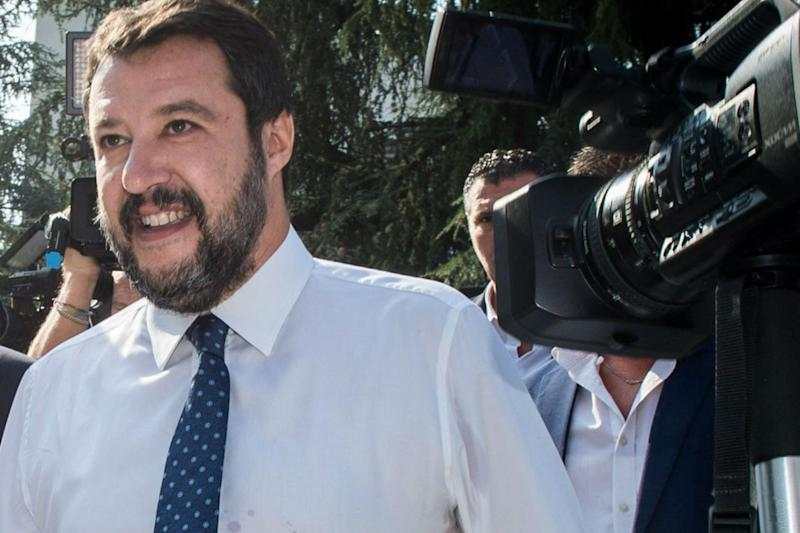"""Felice per te"", il post di Salvini per nonna Peppina"