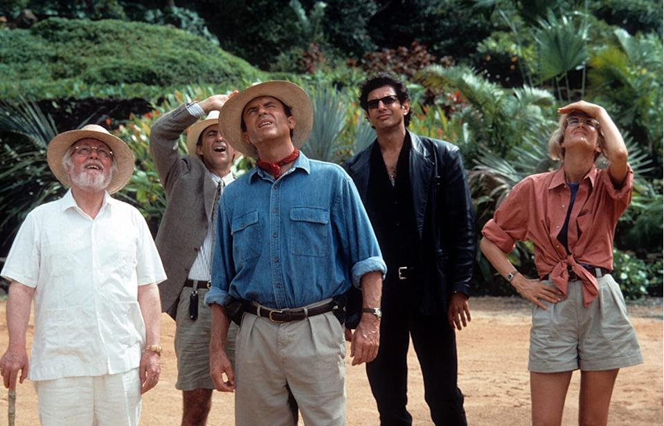 Jurassic Park's Sam Neil, Laura Dern and Jeff Goldblum will rejoin the franchise (Image by Universal)