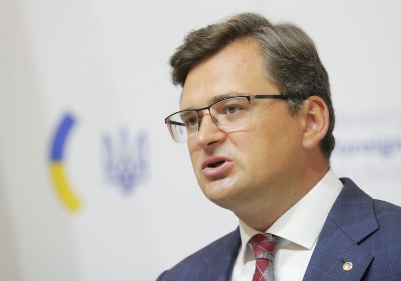 Ukraine warns Russia on Belarus interference as UK flags sanctions