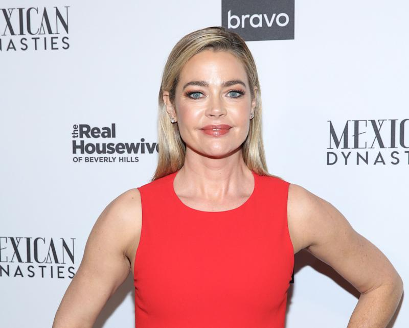 Denise Richards is all smiles at a 'RHOBH' event
