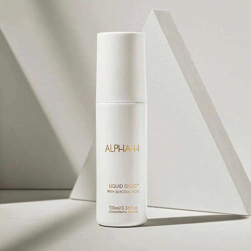 <p>Give your skin a boost of radiance with the <span>Alpha-H Liquid Gold Exfoliating Treatment with Glycolic Acid</span> ($48, originally $54). This powerful and effective solution is perfect for those who need extra help diminishing dark spots and dullness.</p>