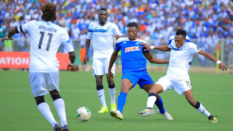 When is the Raja Casablanca vs. Enyimba Caf Confederation Cup semi-final and how can I watch?