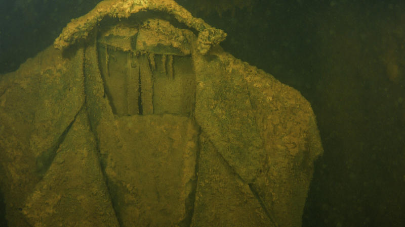 A National Park Service Photo by marine imagining technologies shows an officer's uniform.