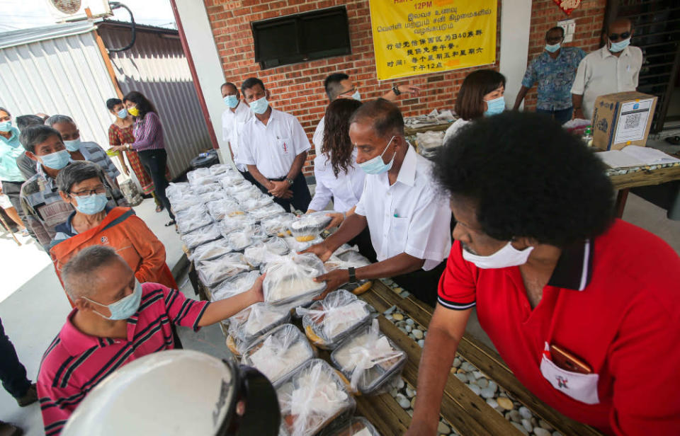 Following the success of its soup kitchen, Ipoh Barat member of parliament M. Kulasegaran intends to increase the programme further. — Picture by Farhan Najib